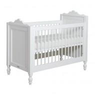 Bopita Belle umbaubares Babybett 70x140cm in Weiß