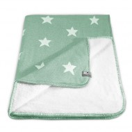 Baby's Only Babydecke Teddy Sterne mint 95x70cm
