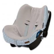 Baby's Only Bezug Maxi-Cosi Zopf hellblau