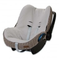 Baby's Only Bezug Maxi-Cosi Zopf taupe