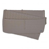 Baby's Only Zopf Laufgitterumrandung in taupe 330x28cm