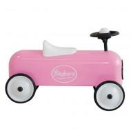 Baghera Rutschauto Racer in rosa