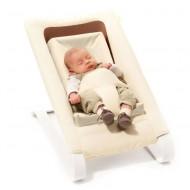 Bombol Bamboo Babywippe in beige mit Newborn Set