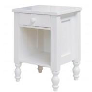 Bopita Belle Nachttisch in weiß