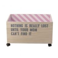 Bloomingville Aufbewahrungskiste 'Nothing is really lost'