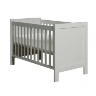 Bopita Babyflex Babybett Finn 60x120cm pure grey