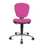Bopita Schreibtischstuhl Kiddi Star Chrom/pink