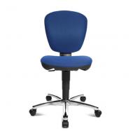 Bopita Schreibtischstuhl Kiddi Star Chrom/blau