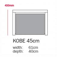 Bopita Regal Kobe - Höhe 45cm - Farbe Schublade aus 22 Farben wählbar