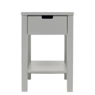 Bopita Mix&Match Nachttisch in pure grey