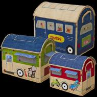 Rice Spielzeugkörbe als Wohnwagen in 3 Größen