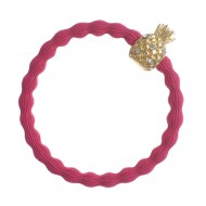 By Eloise Haargummi Armband Pineapple fuchsia