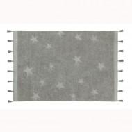 Lorena Canals waschbarer Teppich 'Hippy Stars' in grau 120x175cm