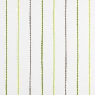 "Casadeco ""Alice & Paul"" Stoff Streifen grün"