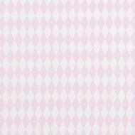 "Casadeco ""Alice & Paul"" Stoff Karos rosa"