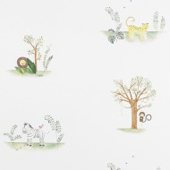 "Casadeco ""Alice & Paul"" Stoff Dschungel"