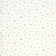 """Casadeco """"Alice & Paul"""" Tapete All Over Etoiles Sternchen violet-mint-beige"""