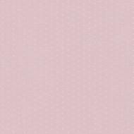 "Casadeco ""Alice & Paul"" Tapete rosa mit creme-beigen Punkten"