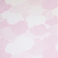 """Casadeco """"Arc en Ciel"""" Voilestoff Wolken rosa"""