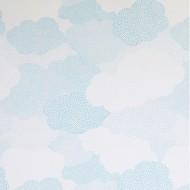 """Casadeco """"Arc en Ciel"""" Voilestoff Wolken blau"""