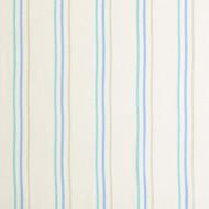 """Casadeco """"Arc en Ciel"""" Stoff Streifen blau-mint-grau"""