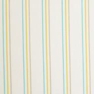"""Casadeco """"Arc en Ciel"""" Stoff Streifen blau-gelb-grau"""