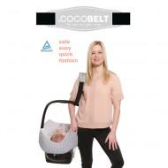 Cocobelt Tragegurt für Babyschalen in schwarz