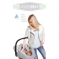 Cocobelt Tragegurt für Babyschalen in mint