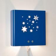 Molight Wall Wandleuchte Sterne in dunkelblau