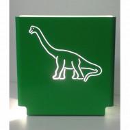 Molight Series Tischleuchte Dinosaurier in grün