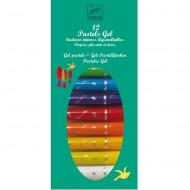 12 Pastell-Gelstifte von Djeco