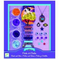 Djeco Perlenset: Perlen und Sterne