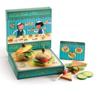 Djeco Rollenspiel Sandwichbar Emile et Olive