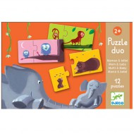 Djeco Duo Puzzle Mom&Baby