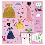 Djeco Sticker und Puppen