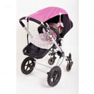 Djou Djou Sonnensegel pink für Kinderwagen
