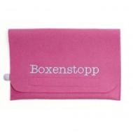 "Djou Djou Windeltasche ""Boxenstopp"" in pink"