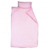 Bettwäsche Vichykaro rosa von Taftan in 2 Größen