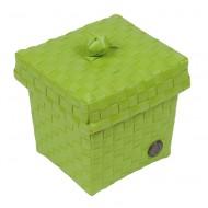Handed By Ascoli - Kleine Kosmetik-/Haarspangenbox apple green