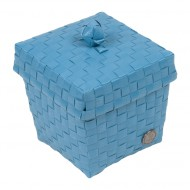 Handed By Ascoli - Kleine Kosmetik-/Haarspangenbox stone blue