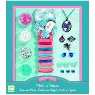 Djeco Perlenset: Ohh, Beads! Perlen und Vögel