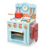 Le Toy Van hochwertiger, kleiner Spielherd aus Holz - mit Macke