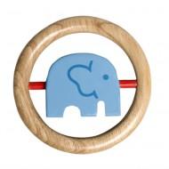 Franck&Fischer Dreh-Elefant 'Afrika' blau