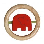 Franck&Fischer Dreh-Elefant 'Afrika' rot