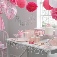 Ginger Ray Pompoms 5er-Pack rosa/pink