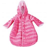 Schlafsack in pink für Puppen 30-33cm