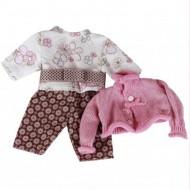 Kleiderset für Puppen 42-46cm