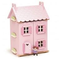 Le Toy Van hochwertiges, großes  Puppenhaus aus Holz