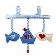 Spieltrapez Segelboot von Hansekind