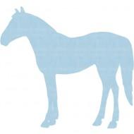 Tapetenpferd 203 hellblau